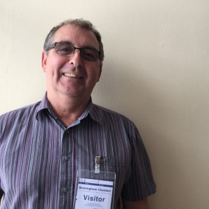 A picture of Clive, a specialist mentor