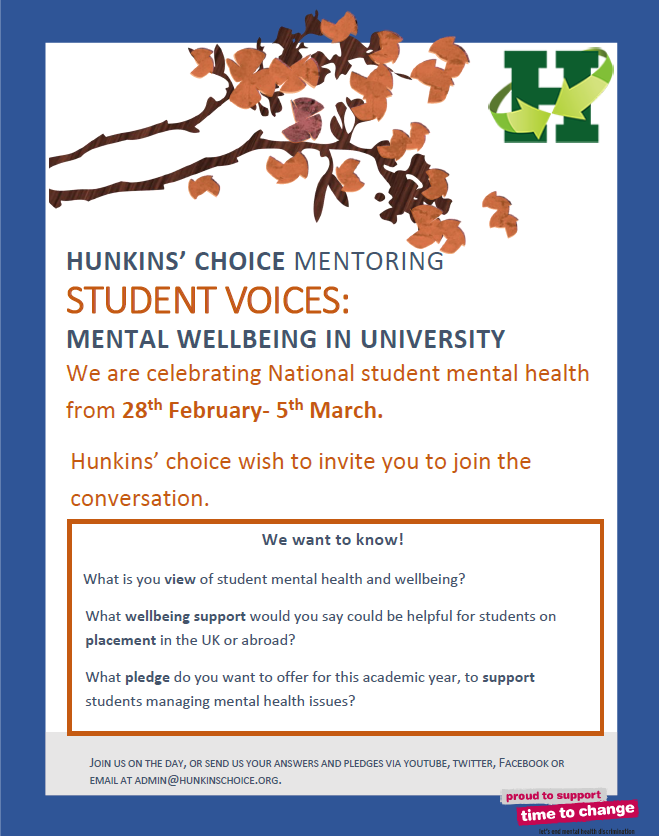 Student voices 2016 poster