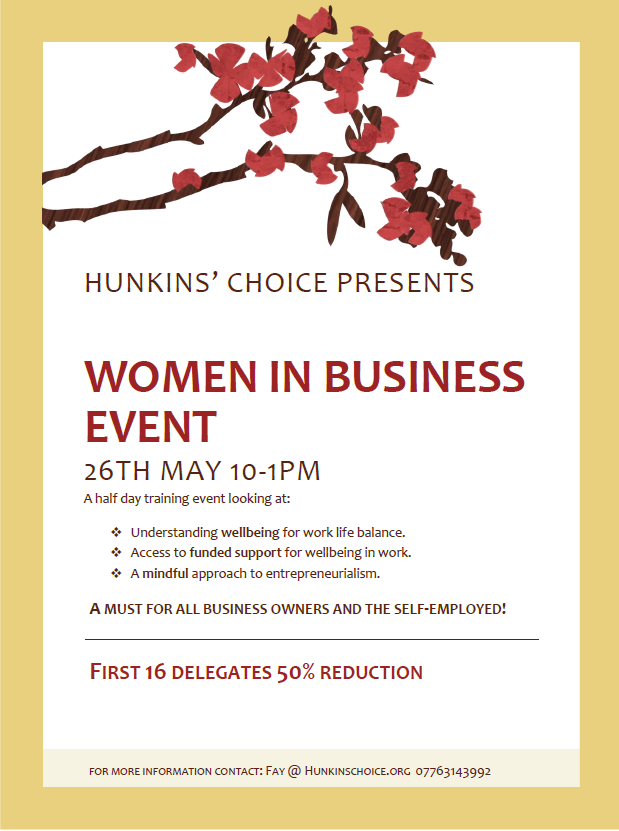 Women in business event poster