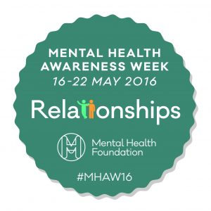 Mental health awareness week 2016 badge